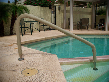 Handrail Covers Arizona Spa Covers